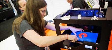 Booth_Makerbot_VMworld2013