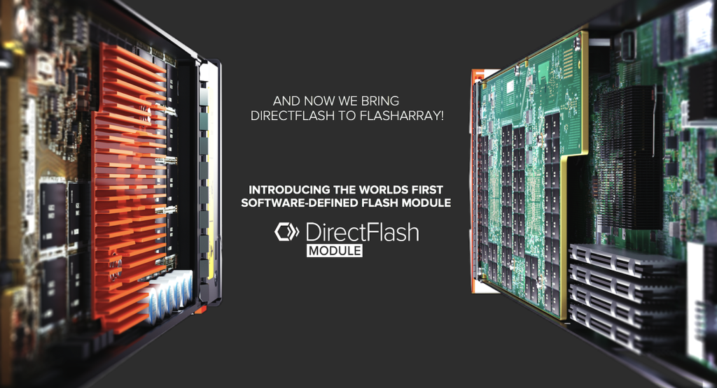 Bringing DirectFlash to FlashArray
