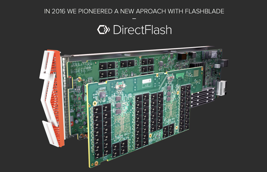 DirectFlash with FlashBlade