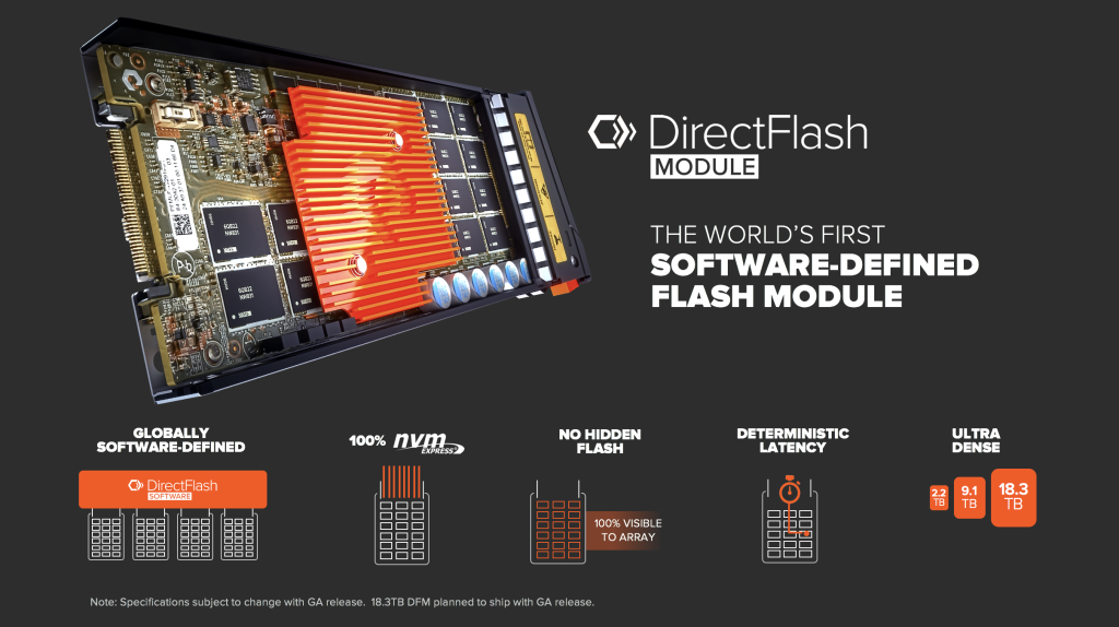 Introducing DirectFlash Worlds First SW Defined Flash Module